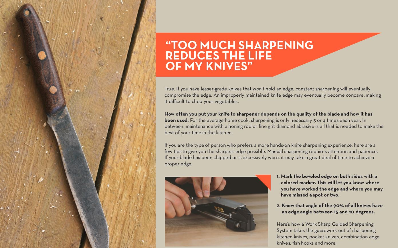 Does Too Much Sharpening Ruin My Knives?