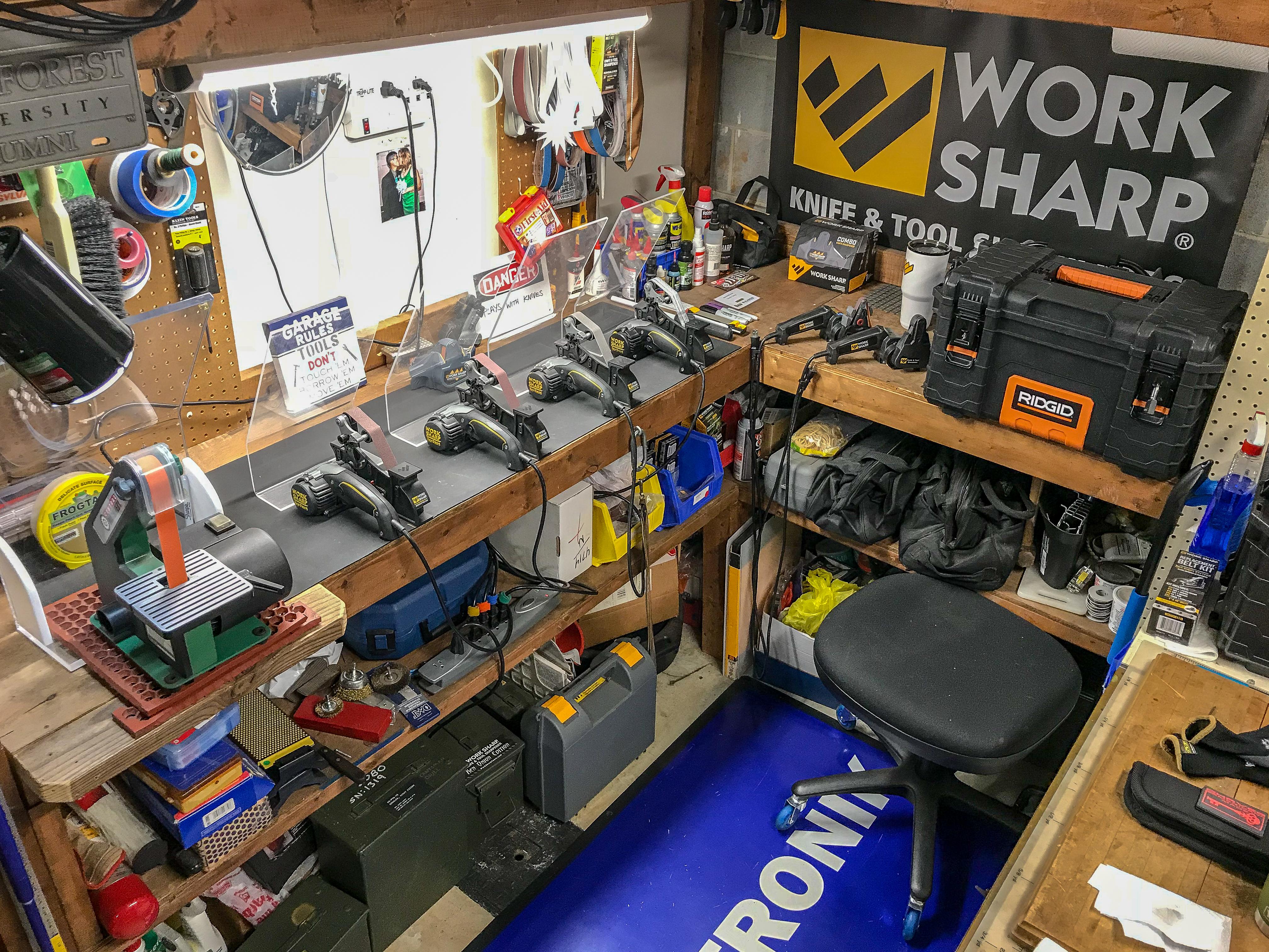 Work Sharp Knife and Tool Sharpener How to Sharpen